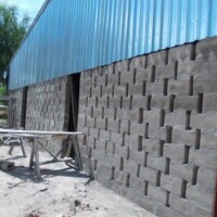Current photos of Stores Construction at the Mwandi UCZ OVC Project